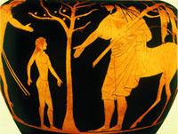 Kheiron receiveing Achilles